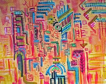 custom painting 8*10