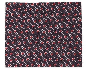 Wine Blanket - Icon Prints: Drinks Series