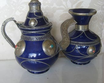 Moroccan Teapot & Vase