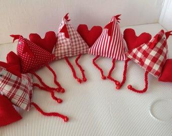 Chicken Hearts Garland