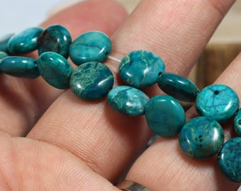 Blue Jasper Faceted Round Beads 10mm