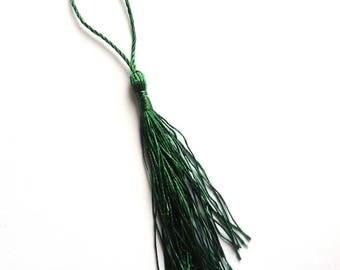 Green color tassel 8 cm CHP03
