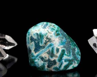 Malachite & Chrysocolla Polished Tumbled Stone Crystal