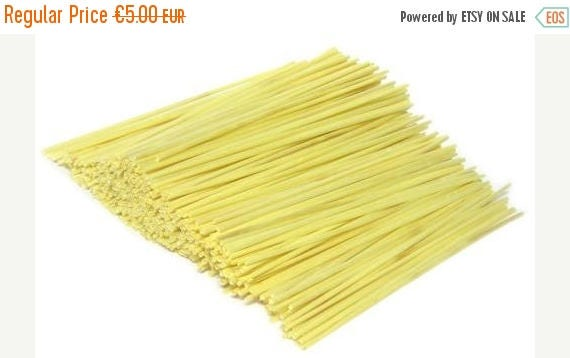 BIG SALE Dried straw for craft or Christmas ornament, a pack of 50 straws, German straw handmade craft, bleached straw