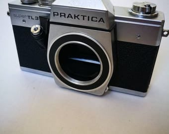 Praktica Super TL3 with New Light Seals. Vintage Ready-To-Use 1970s SLR Camera Body