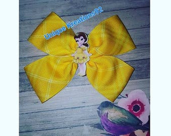 Toddler Belle Princess Bow