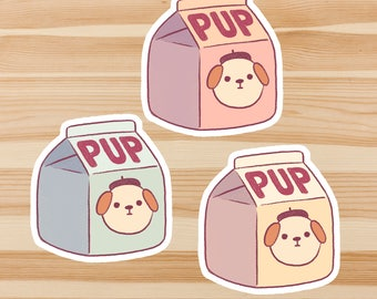 Pup Sticker Set *Pack of 3*