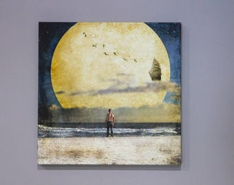 NeverLost Gallery Wrapped Canvas, wall art, peter pan, neverland