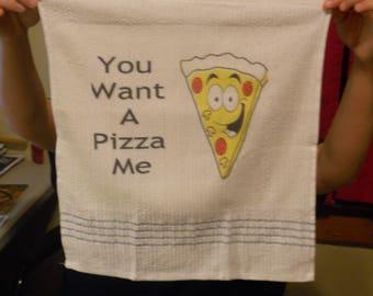 cusomtized dish towel