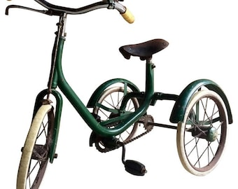 Mid Century Early 1930's Tricycle Bike