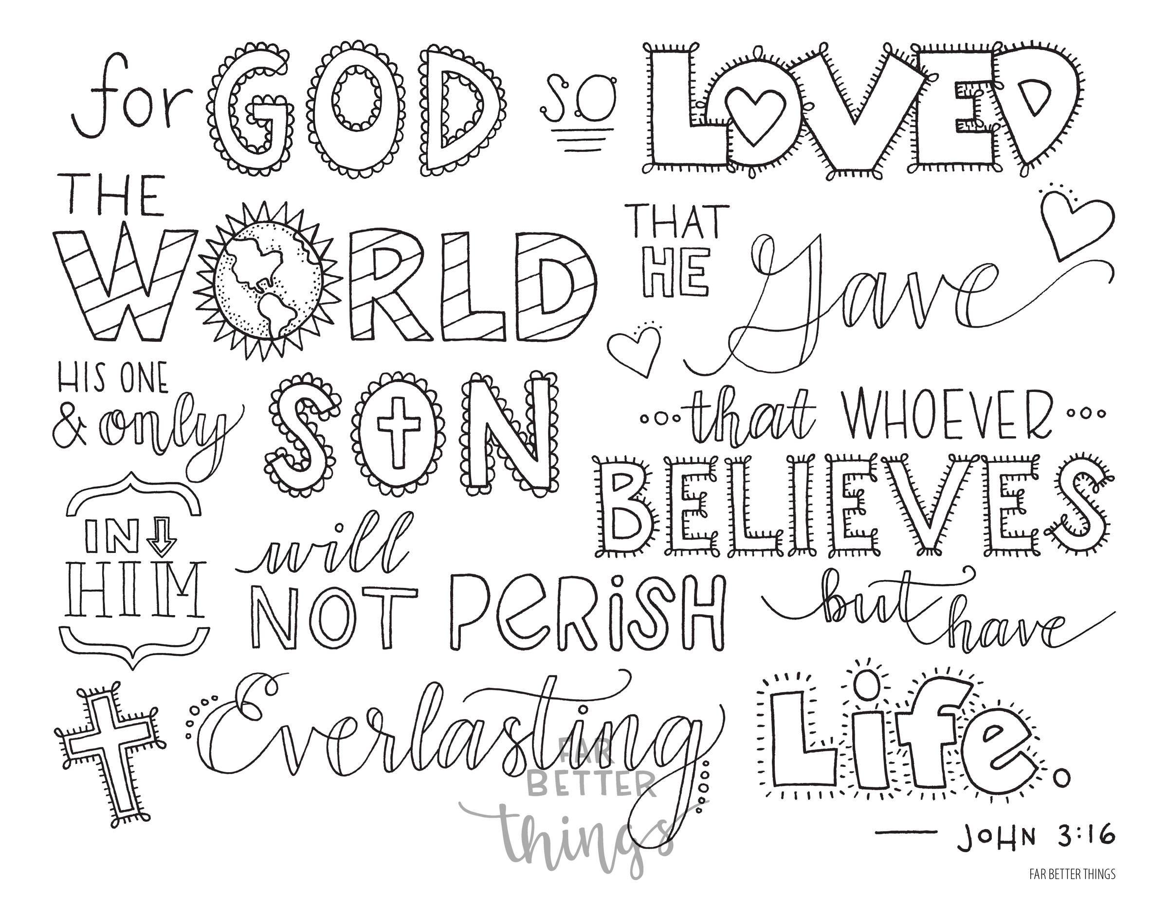 bible page john 3:16