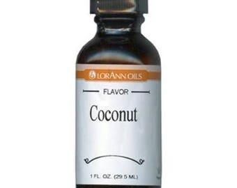 Coconut Flavor - LorAnn Oils - 1 oz