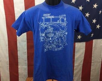 Backyard gang tshirt medium