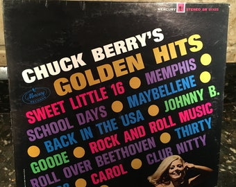Chuck Berry - Golden Hits In STEREO - Sealed New NOS -Mercury 1960s - Free Shipping! Red Hot!!