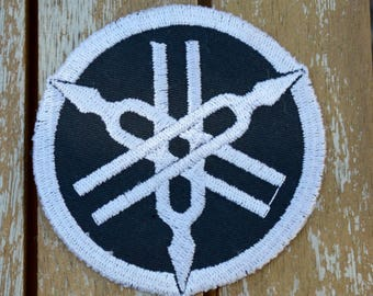 embroidered with yamaha