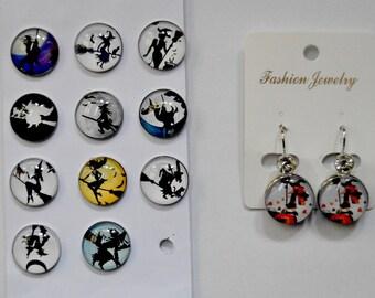 Choose witch earrings