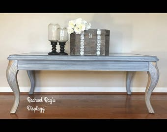 Coastal Driftwood Coffee Table
