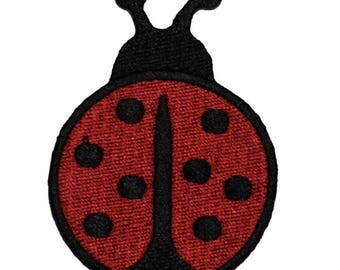 Ladybug Applique Patch (Iron on)