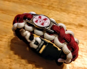 Morehouse College Inspired Paracord Bracelet