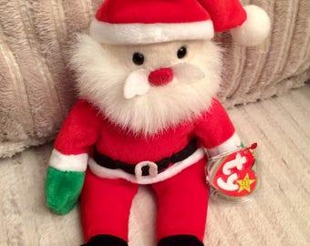 Santa Beanie Baby, ty Christmas Beanie Baby, 1998