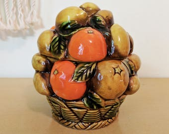 Vintage Inarco Ceramic Fruit Bowl