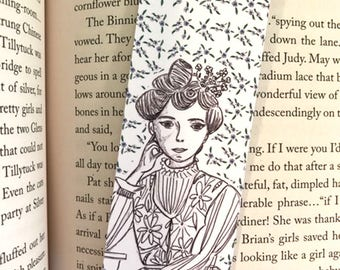 Lucy Maud Montgomery Bookmark - illustrated - bookmark - literary