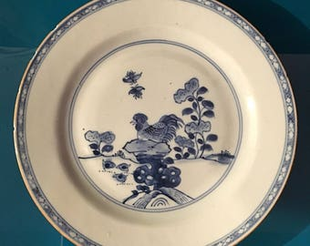 a 18th century, Chinese porcelain plate