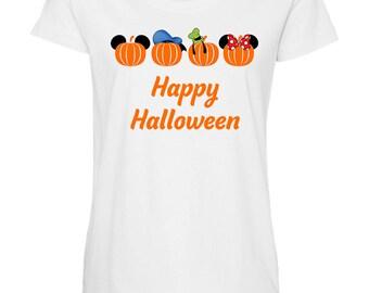 Character Pumpkin Maternity Shirt / Disney Maternity Shirt / Halloween / Disney Halloween Shirt