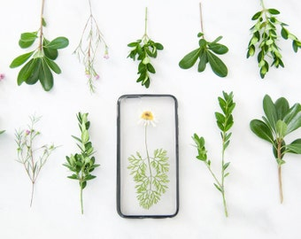 NEW Designs Added - Handcrafted Flower iPhone Case - Pressed Real Flowers - for iPhone 6 6s Plus 7 7s Plus 5 5s SE - Samsung Galaxy S6 Edge
