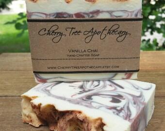 Vanilla Chai Handcrafted Soap - Bar Soap - Handmade Soap - Spicy Soap