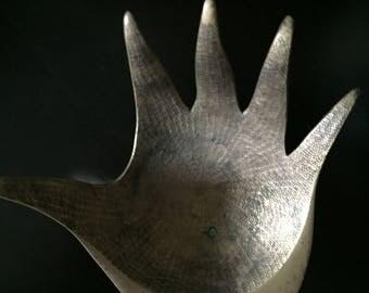 Little Vintage Brass Hand