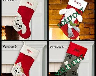 Dog Stocking, Dog Christmas Stocking, Pet Stocking, Christmas Stockings For Dogs, Dog Christmas Stockings, Pet Christmas Stockings, Custom