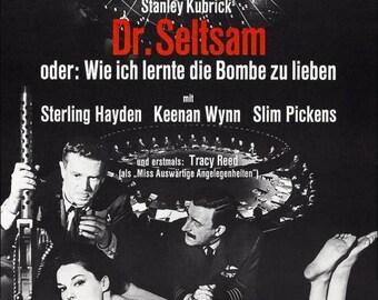 Summer Sale DR. STRANGELOVE Movie Poster Stanley Kubrick RARE Print