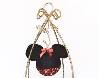 Minnie/Mickey Mouse Ornament