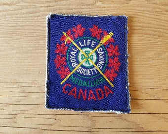 Royal Life Saving Society Award of Merit Patch - Toronto - P06