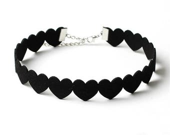 Black Hearts Choker