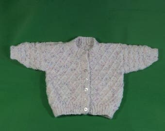 Baby girls cardigan 0 - 3 months