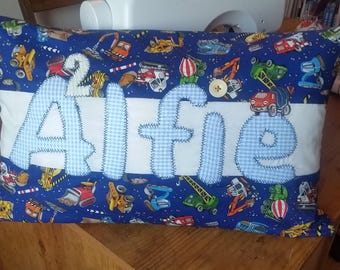 Personalised kids cushions
