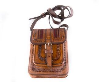 Imprinted Gypsy Bohemian 90's Shoulderbag