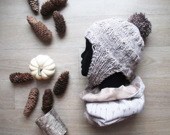Mixed winter Snood