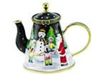 Christmas mini teapot OUT OF STOCK