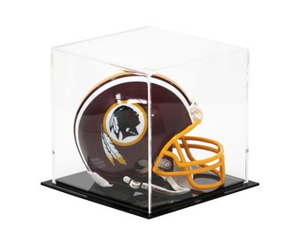 "Versatile Acrylic Display Case, Cube, Dust Cover and Riser 6"" x 6"" x 6"" (A058-CDS)"