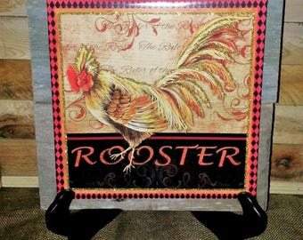 rooster home decor | etsy