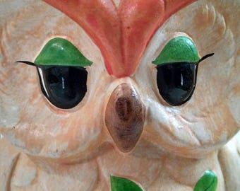 Ceramic Retro Owl Coin Bank