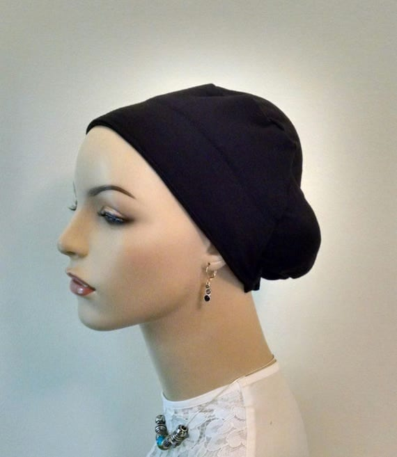 NEW!! Beret boubou/volumizer in black