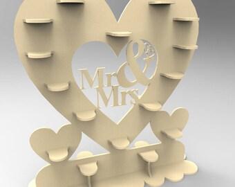 Ferrero heart (2 versions) - Digital files