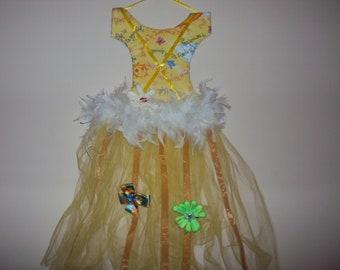 Yellow Tutu Hair Bow Holder 150
