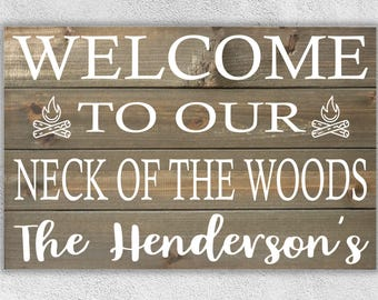 Deer Sign Entryway Signs Cabin Camping Decor Front