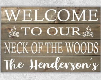 Deer Sign, Entryway Signs, Cabin Sign, Camping Decor, Camping Sign, Front Porch Sign, Country Sign, Rustic Camper, Rustic Camper Decor