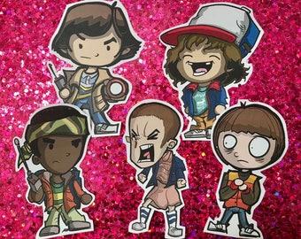 Stranger Things Season 1 Stickers (Set of 5)